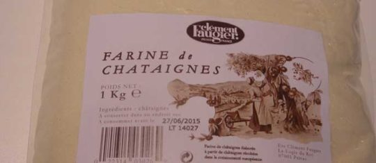 Farine de Châtaigne 1kg