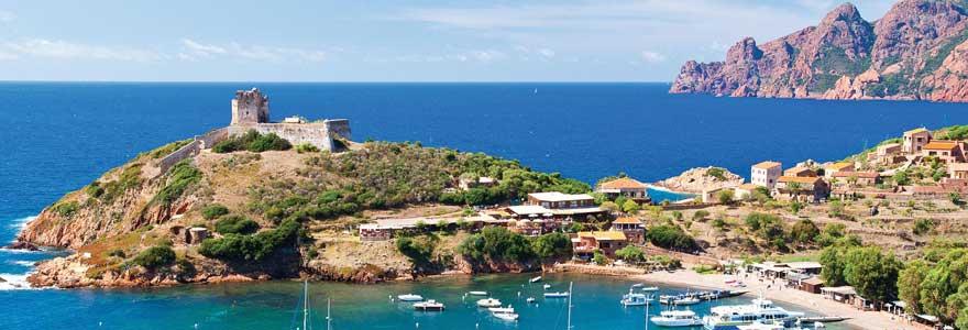 régions de Corse